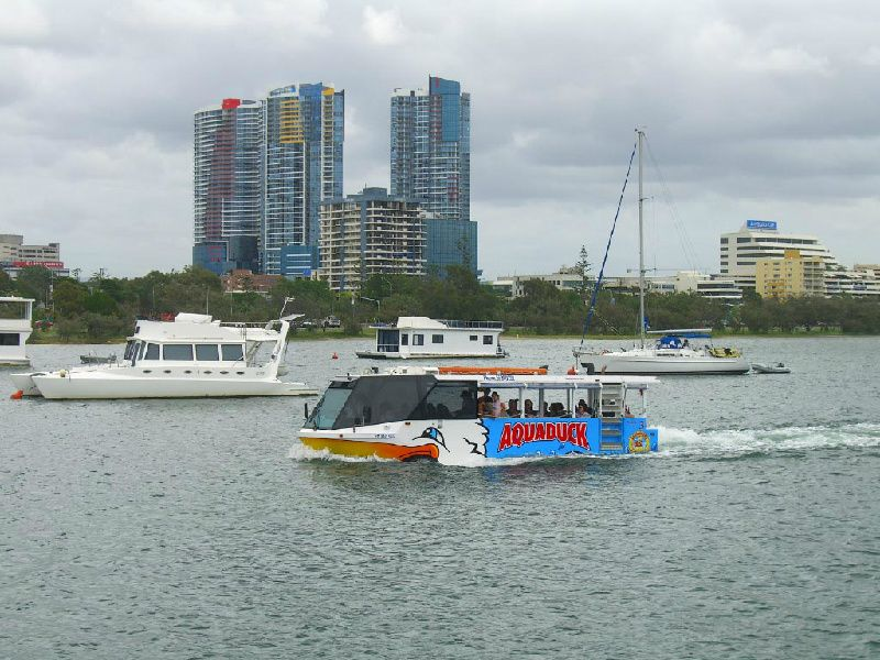 Gold Coast Aquaduck Land and Water Cruise