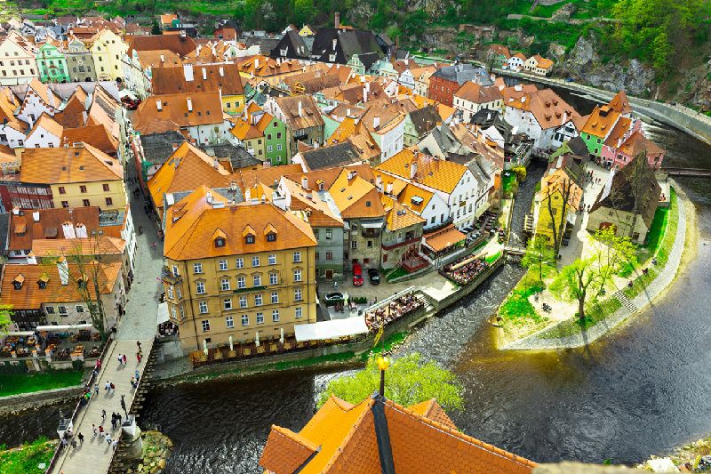 Cesky Krumlov and Ceske Budejovice Day Tour w/ Lunch