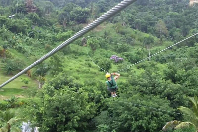 Zip Line Adventure from La Romana