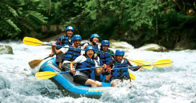 1-Day Ayung White Water Rafting with Bali Sobek Tour