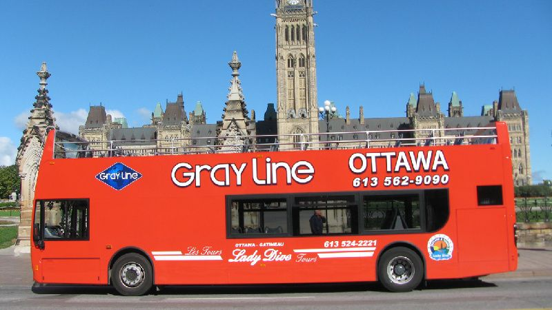 Double Decker Hop On and Hop Off in Ottawa