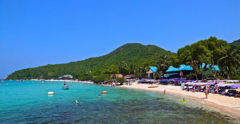 One Day Pattaya City & Coral Island Tour from Bangkok