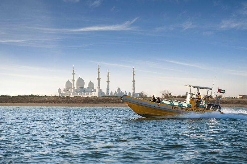 The Yellow Boats - Emirates Palace, Presidential Palace & Al Maya Island