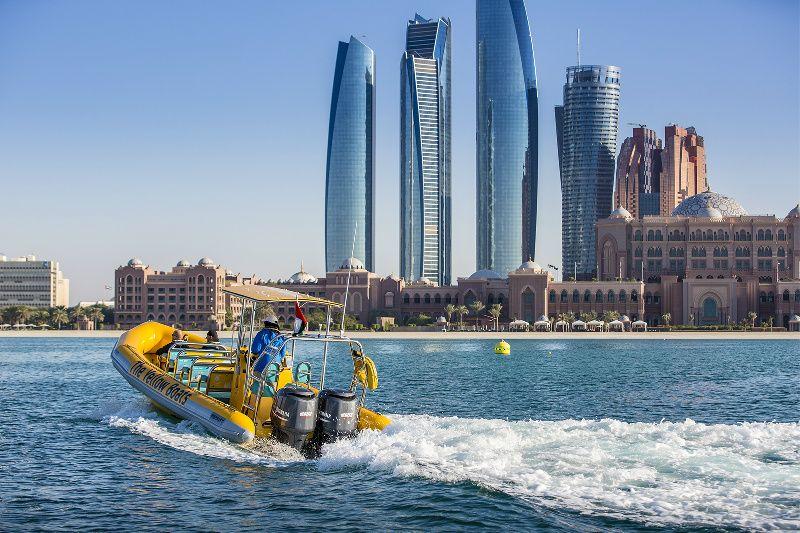 The Yellow Boats - Corniche, Lulu Islands and Emirates Palace