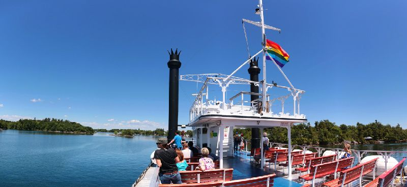 3-Hour Thousand Islands Sightseeing Cruise from Kingston