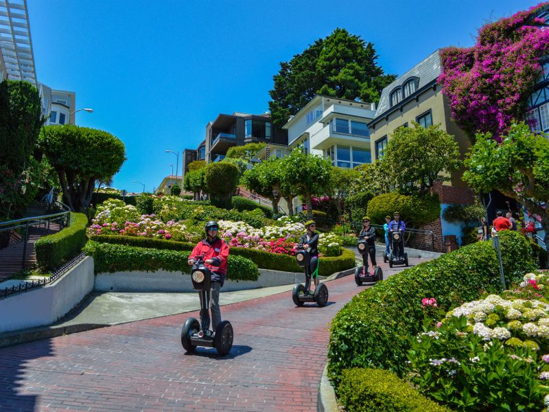 417 Group: Private Segway Tour:  Wharf & Hills of San Francisco