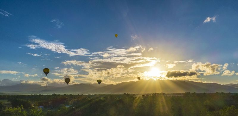 60-Minute Ballooning From Cairns