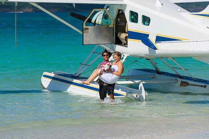 Whitehaven Beach Funseeker Seaplane Tour from Hamilton Island