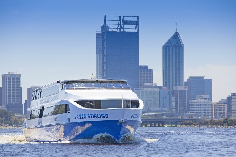 One Way Cruise from Perth to Fremantle or from Fremantle to Perth