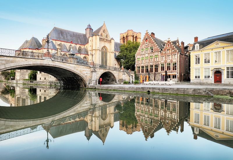 Ghent Small Group Tour from Brussels