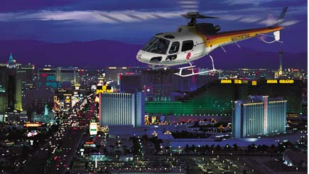 Las Vegas Strip Helicopter Tour With Transfers