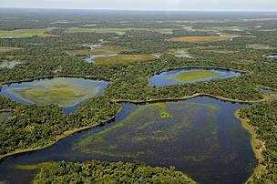vista aérea Pantanal