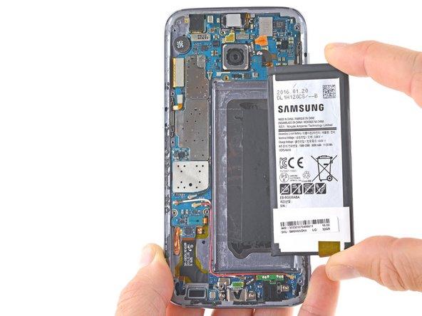Samsung Galaxy S7 Akku Ersetzen Ifixit Reparaturanleitung