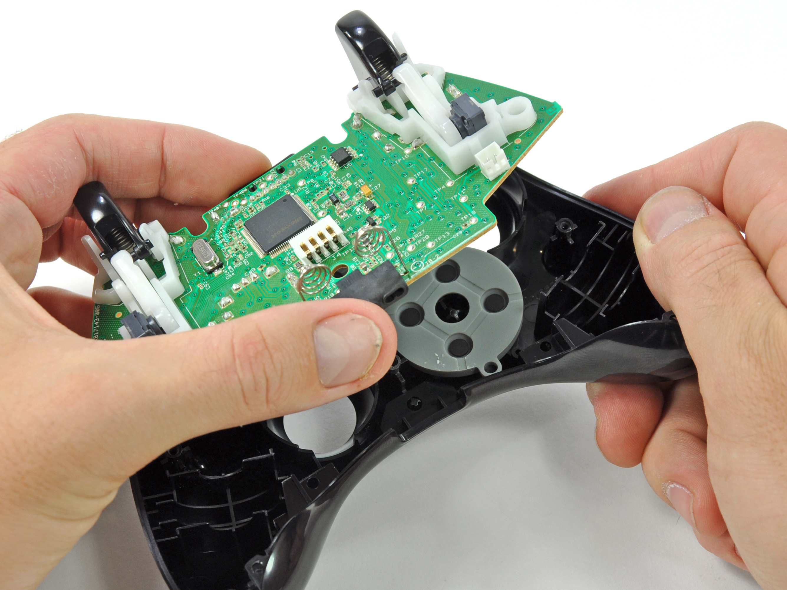 Xbox 360 Wireless Controller Logic Board Replacement IFixit Repair Guide