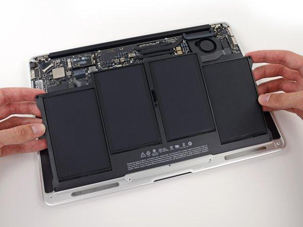 Macbook Air 13 Zoll Anfang 2015 Akku Austauschen Ifixit Reparaturanleitung