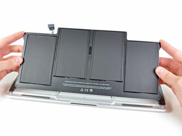 Macbook Air 13 Ende 2010 Akku Austauschen Ifixit Reparaturanleitung