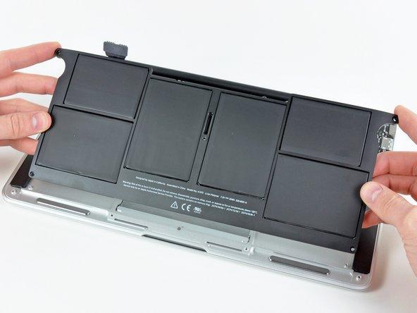 Macbook Air 11 Ende 2010 Akku Tauschen Ifixit Reparaturanleitung
