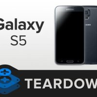 S5 teardown by iFixit reveals that the S5 proves to be a nightmare for repairing