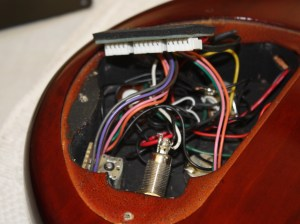 Ibanez 5 String Bass Model SR405QM Output Jack Replacement