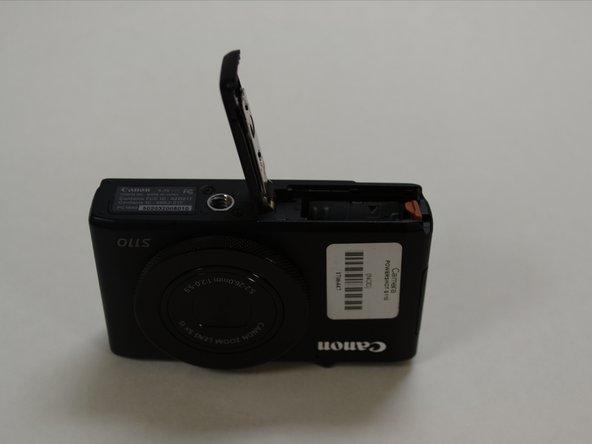 Canon PowerShot S110 Lens Replacement