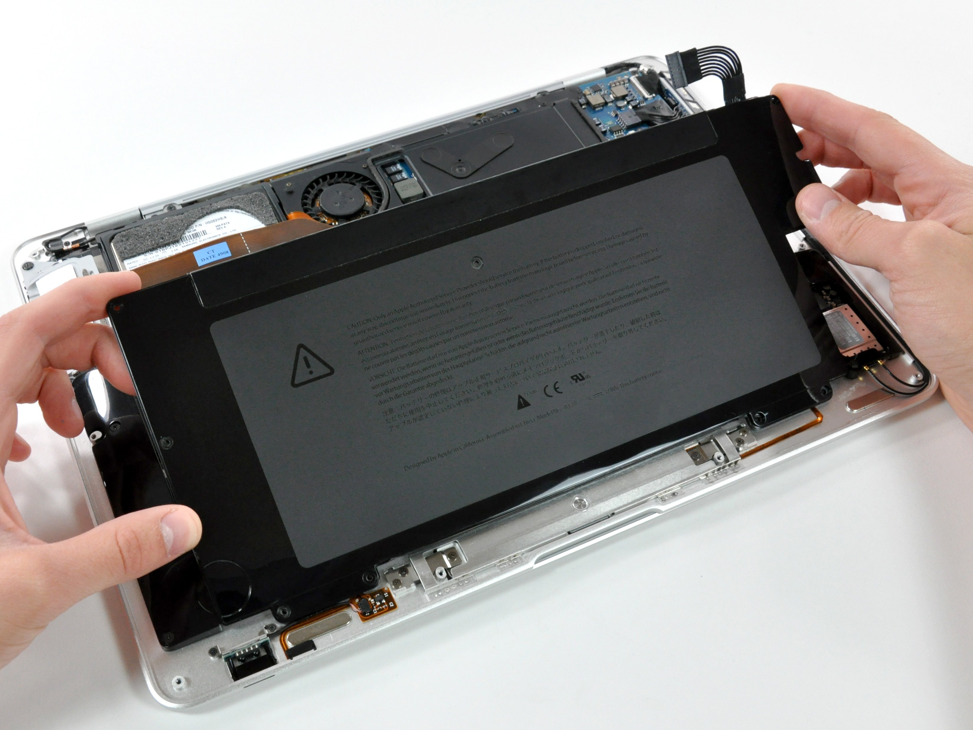 Macbook Air Models A1237 And A1304 Battery Replacement Ifixit Repair Guide