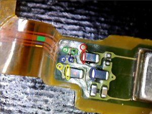 How to repair a broken flex cable (Sony Xperia Z1