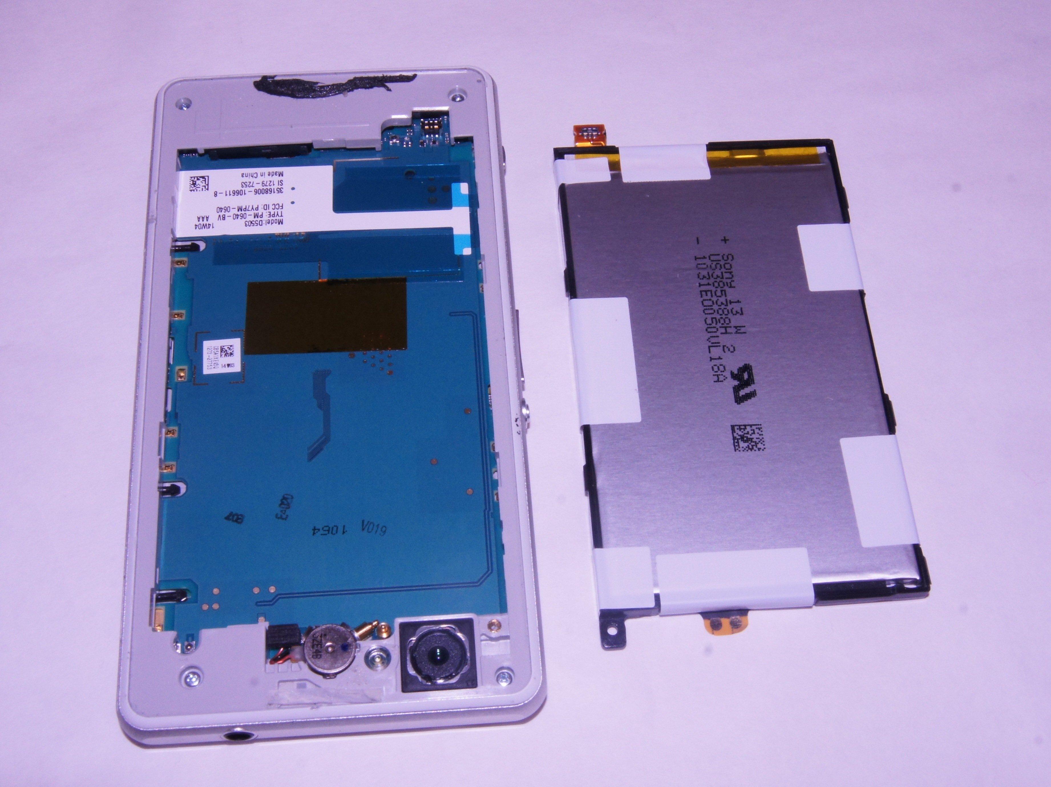 Sony Xperia Z1 Compact Battery Replacement Ifixit Repair Guide