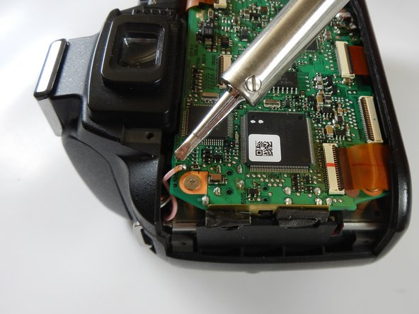 Nikon D40 Mainboard Replacement