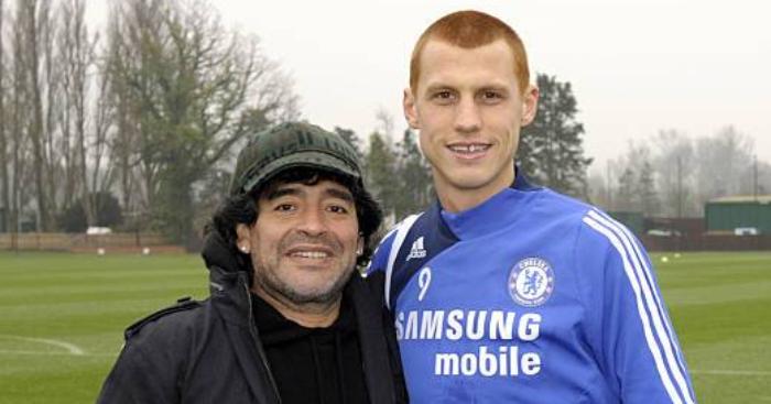 Steve Sidwell Diego Maradona Chelsea
