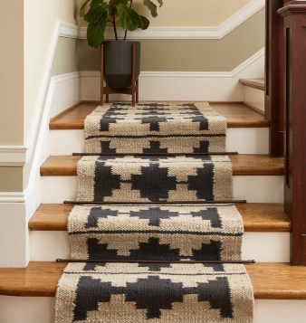 Jute Rug for Staircase