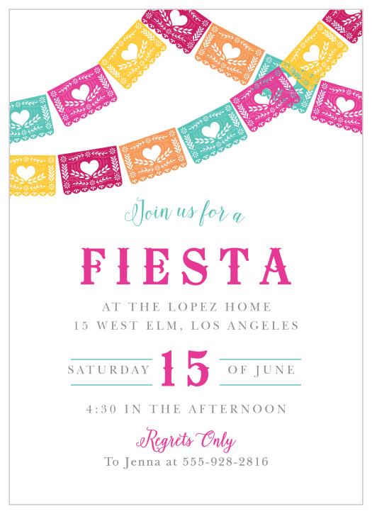 fiesta children s birthday party