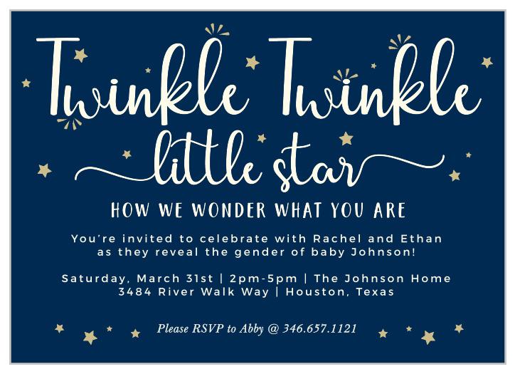 twinkle twinkle little star baby shower