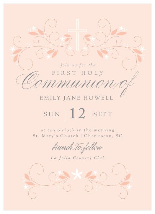 first communion invitations 15 off