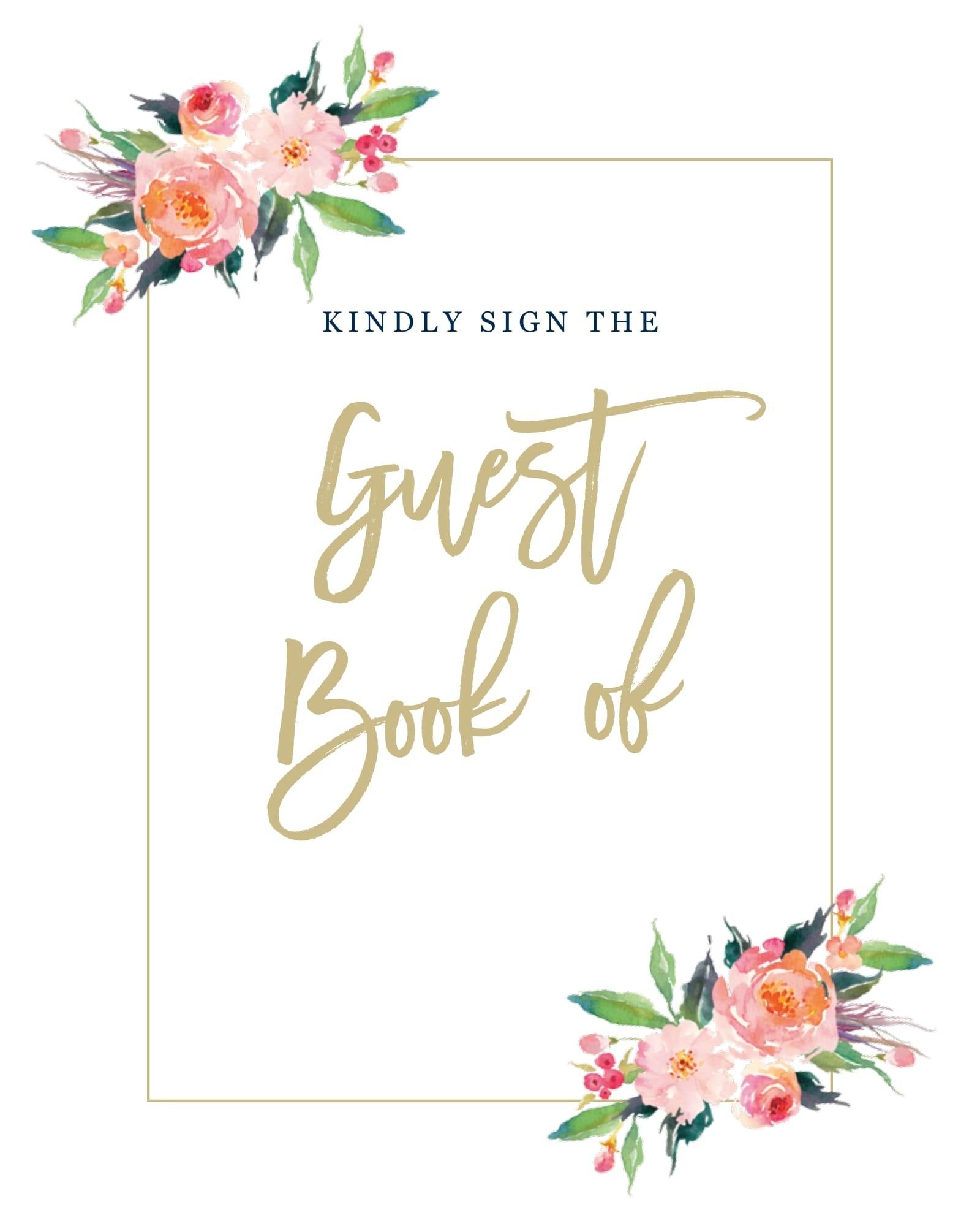Wedding Printables And Free Wedding Templates