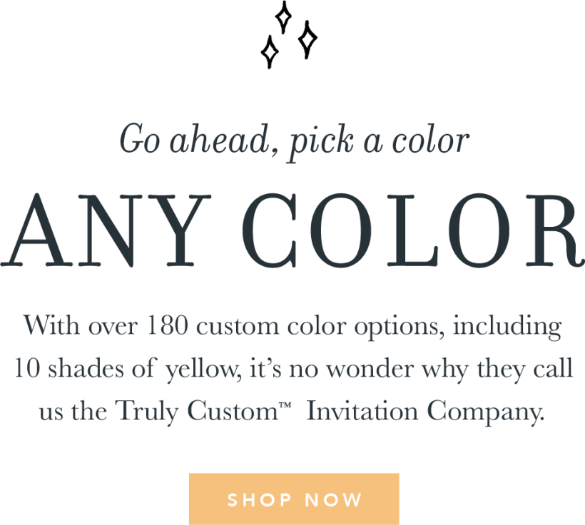 Go Ahead Pick A Color Any With Over 180 Custom Options