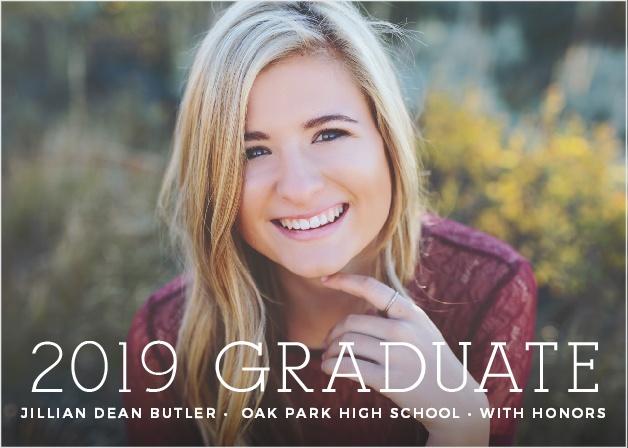 Basic Graduation Announcements