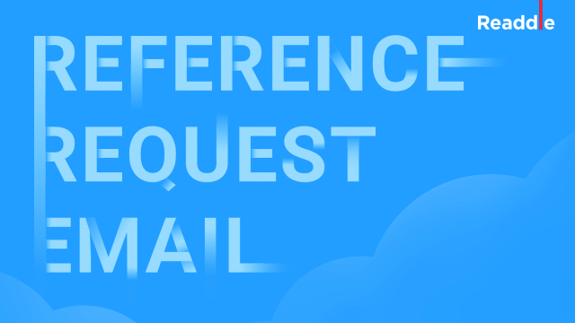 How to Ask Someone to Be a Reference  Email Sample