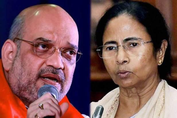 Amit Shah challenges Mamta Banerjee, says BJP will form next govt ...