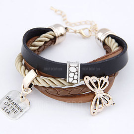 Lovely Leatherette Girls' Fashion Bracelets (137045986)