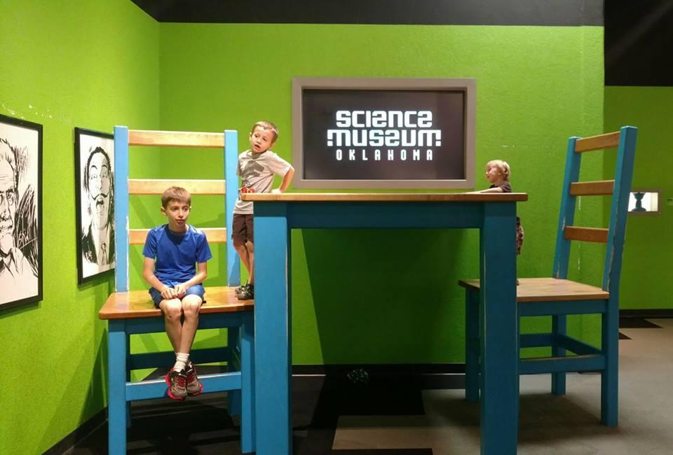 kid review science museum oklahoma