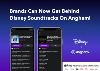 Brands Can Now Get Behind Disney Soundtracks On Anghami