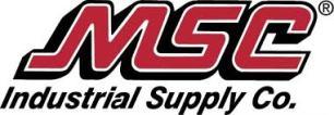 Machine tool supplier MSC Industrial Supply Co's logo