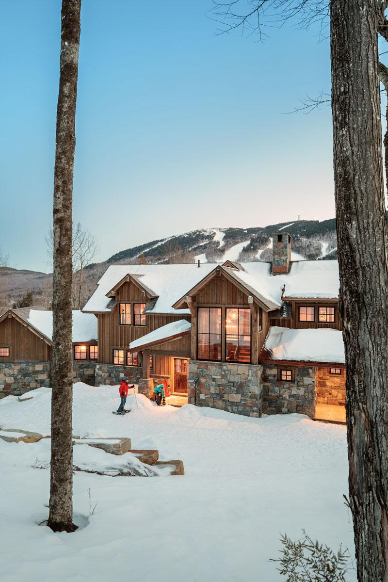 Refined Rustic Maine Home Design