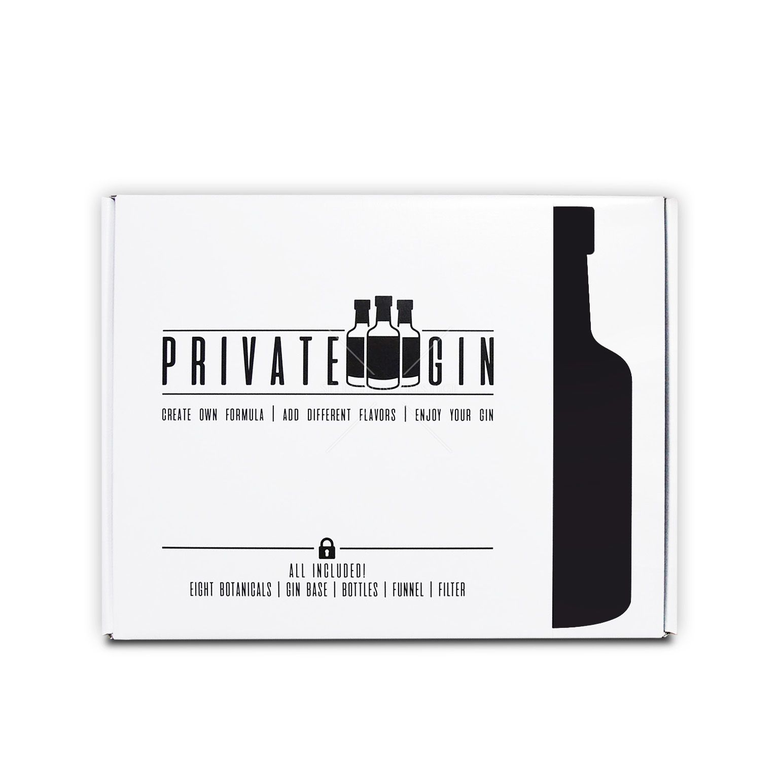 Private Gin Make Your Own Gin Kit 0 45l 40 Vol