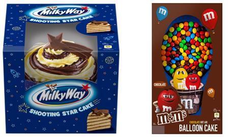 Mars Expands Cake Range With Sharing Cakes News British Baker