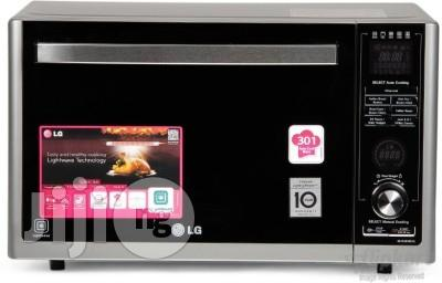 brand new lg microwave 30l with grill and oven two years warranty