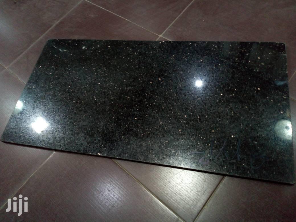 black galaxy granite tiles in lagos