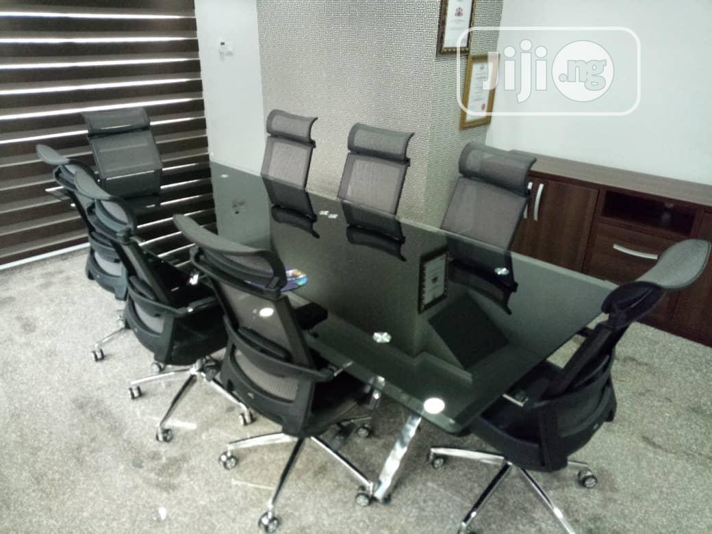Executive Glass Conference Table For 8 And 10 Seaters In Ojo Furniture Chinonso Stanley Jiji Ng For Sale In Ojo Chinonso Stanley On Jiji Ng