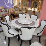 Imported Quality Round Marble Dining Table With Chairs In Lekki Furniture Smart Funiture Interiors Jiji Ng