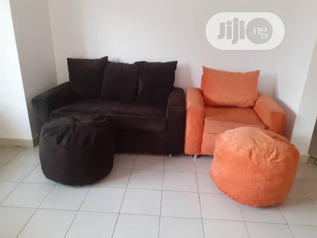 cotton couches with foot rest